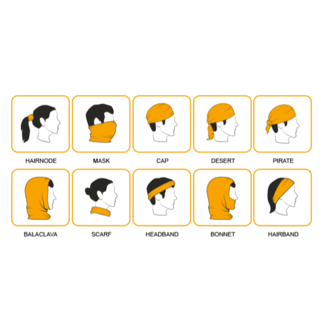 Einsatzmöglichkeiten Multifunktionstuch